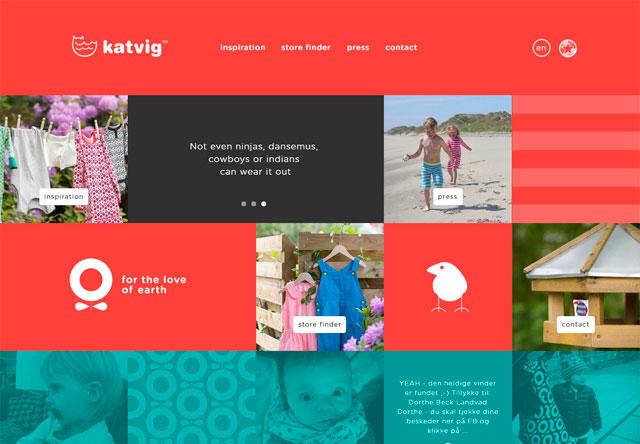 яркие сайты katvig картинка