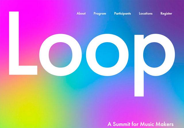 яркие сайты loop картинка