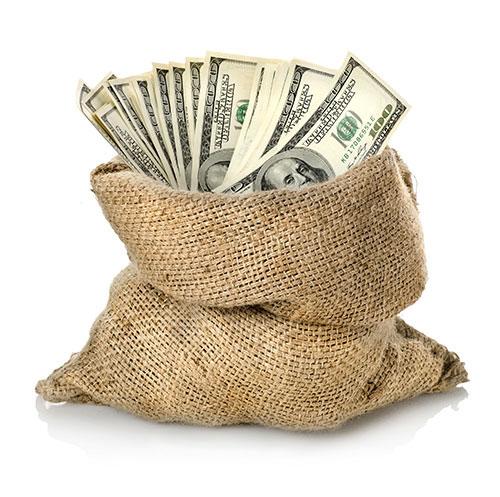 много денег картинка